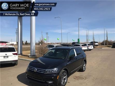 2021 Volkswagen Tiguan Highline 4MOTION (Stk: 1TG8714) in Red Deer County - Image 1 of 7