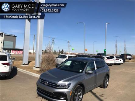 2021 Volkswagen Tiguan Highline 4MOTION (Stk: 1TG3807) in Red Deer County - Image 1 of 8