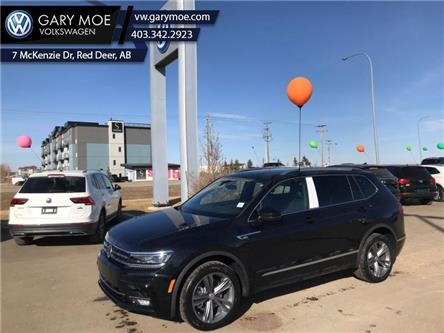 2021 Volkswagen Tiguan Highline 4MOTION (Stk: 1TG3596) in Red Deer County - Image 1 of 8