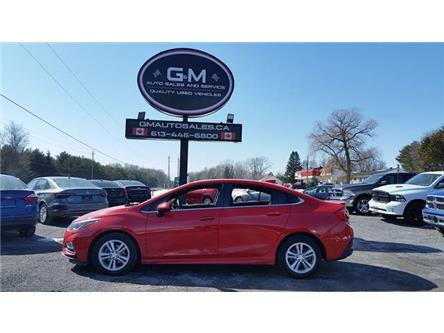2017 Chevrolet Cruze LT Manual (Stk: H7110776) in Rockland - Image 1 of 12