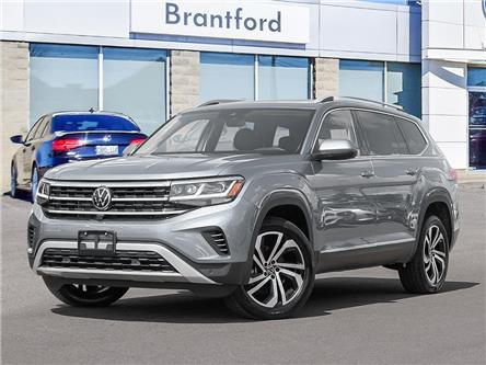 2021 Volkswagen Atlas 3.6 FSI Execline (Stk: AT21043) in Brantford - Image 1 of 10