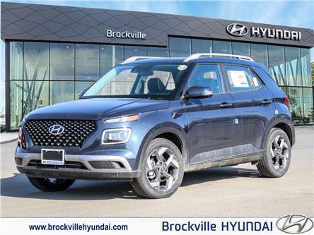 2021 Hyundai Venue Ultimate w/Black Interior (IVT) (Stk: R21173) in Brockville - Image 1 of 23