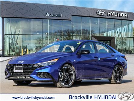 2021 Hyundai Elantra N Line (Stk: R21184) in Brockville - Image 1 of 24