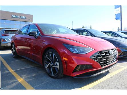 2021 Hyundai Sonata Sport (Stk: 13555) in Saint John - Image 1 of 6