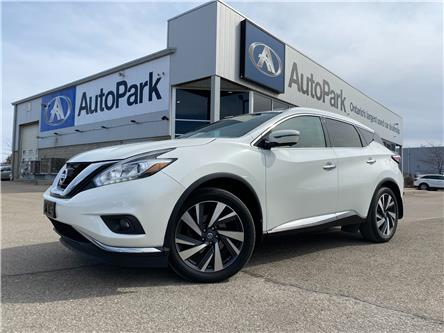 2016 Nissan Murano Platinum (Stk: 16-56280) in Barrie - Image 1 of 28