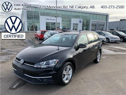 2019 Volkswagen Golf SportWagen 1.8 TSI Comfortline (Stk: 3632) in Calgary - Image 1 of 24