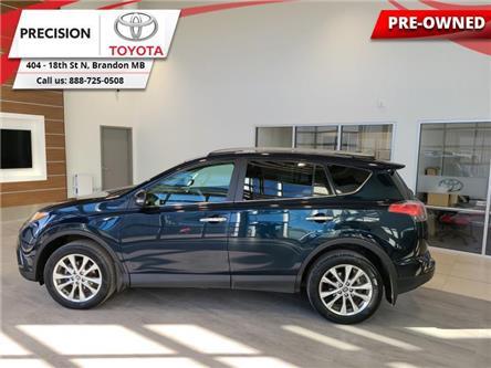 2017 Toyota RAV4 AWD Limited (Stk: 210641) in Brandon - Image 1 of 29