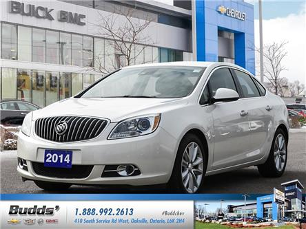 2014 Buick Verano Leather Package (Stk: XT0067A) in Oakville - Image 1 of 25