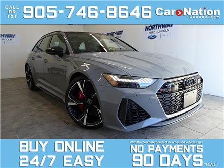 2021 Audi RS 6 Avant 4.0 TFSI | QUATTRO | 591HP | NAV | PANO ROOF (Stk: P6282) in Brantford - Image 1 of 27
