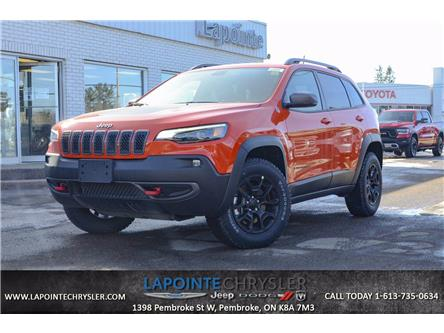 2021 Jeep Cherokee Trailhawk (Stk: 21028) in Pembroke - Image 1 of 30
