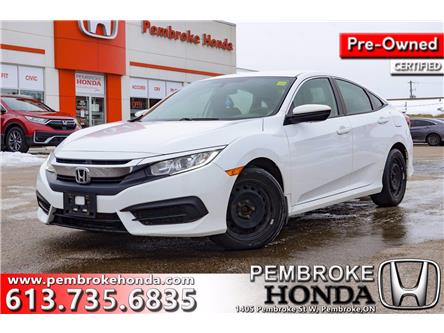 2018 Honda Civic LX (Stk: P7514A) in Pembroke - Image 1 of 10
