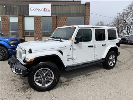 2021 Jeep Wrangler Unlimited Sahara (Stk: C5734) in Concord - Image 1 of 5