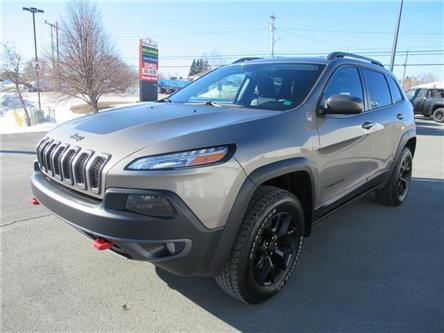 2017 Jeep Cherokee Trailhawk (Stk: 2021-T2A) in Bathurst - Image 1 of 23