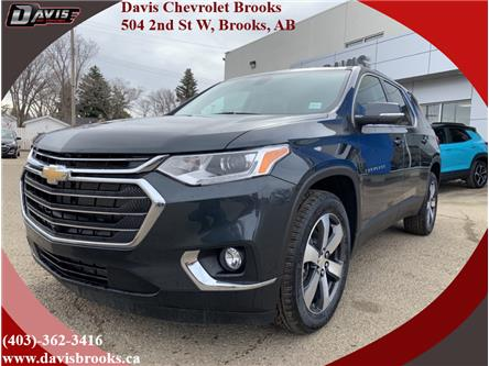 2021 Chevrolet Traverse LT True North (Stk: 224628) in Brooks - Image 1 of 23