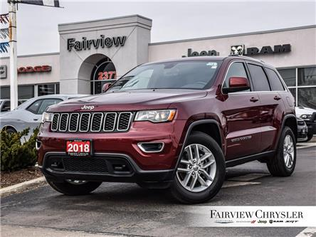 2018 Jeep Grand Cherokee Laredo (Stk: U18374) in Burlington - Image 1 of 29