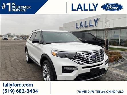 2021 Ford Explorer Platinum (Stk: EX27121) in Tilbury - Image 1 of 17