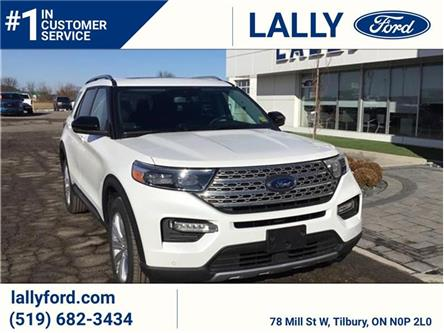 2021 Ford Explorer Limited (Stk: EX27251) in Tilbury - Image 1 of 9