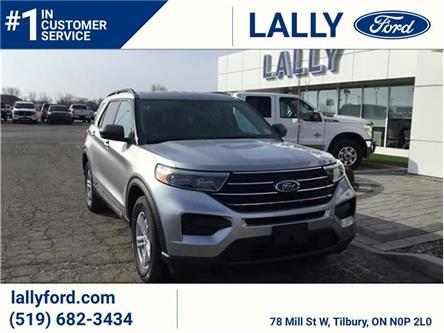 2021 Ford Explorer XLT (Stk: EX27349) in Tilbury - Image 1 of 9