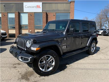 2021 Jeep Wrangler Unlimited Sahara (Stk: C5732) in Concord - Image 1 of 5
