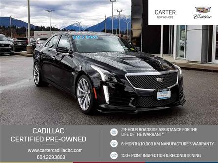 2018 Cadillac CTS-V Base (Stk: 975150) in North Vancouver - Image 1 of 22