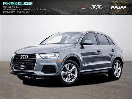 2016 Audi Q3 2.0T Progressiv (Stk: T18729A) in Vaughan - Image 1 of 23