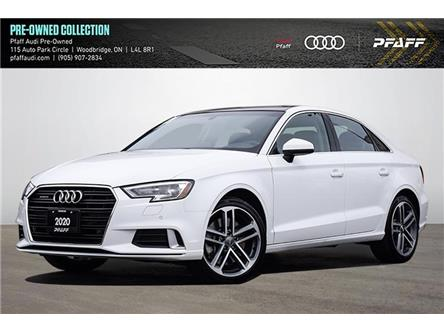 2020 Audi A3 45 Komfort (Stk: C8246) in Woodbridge - Image 1 of 21