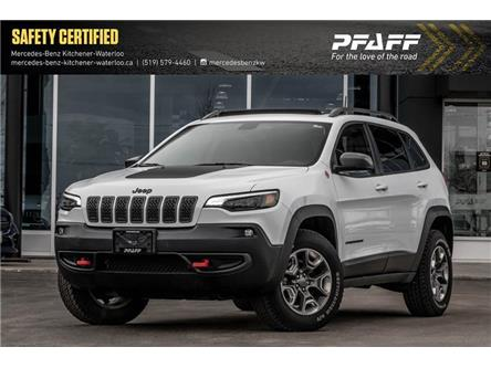 2019 Jeep Cherokee Trailhawk (Stk: K4243A) in Kitchener - Image 1 of 22