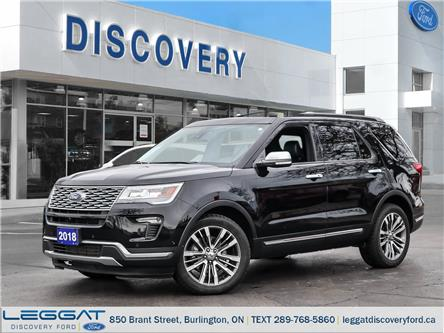 2018 Ford Explorer Platinum (Stk: 18-00522-T) in Burlington - Image 1 of 23