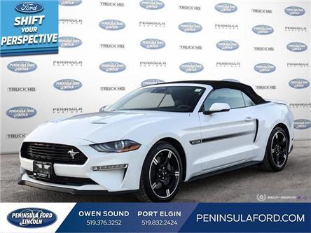 2021 Ford Mustang GT Premium (Stk: 21MU06) in Owen Sound - Image 1 of 24
