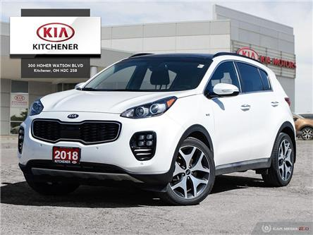 2018 Kia Sportage SX Turbo (Stk: D21129A) in Kitchener - Image 1 of 28