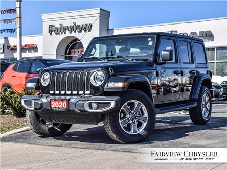 2020 Jeep Wrangler Unlimited Sahara (Stk: U18451) in Burlington - Image 1 of 28