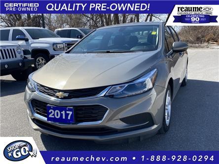 2017 Chevrolet Cruze LT Auto (Stk: L-4500) in LaSalle - Image 1 of 23