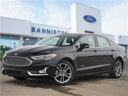 2019 Ford Fusion Hybrid Titanium (Stk: PA2110) in Dawson Creek - Image 1 of 18
