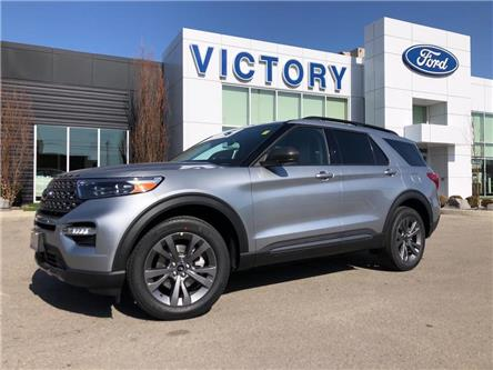 2021 Ford Explorer XLT (Stk: VEX20018) in Chatham - Image 1 of 18