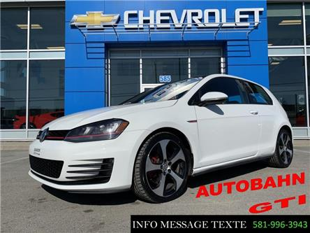2016 Volkswagen Golf GTI  (Stk: X8445) in Ste-Marie - Image 1 of 30