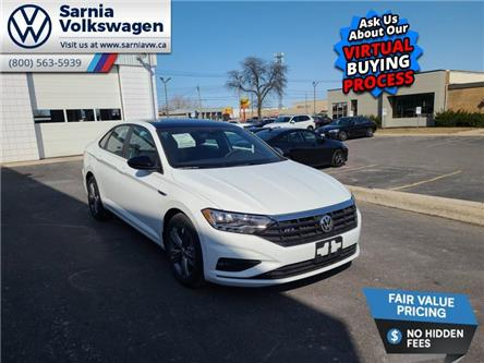 2021 Volkswagen Jetta Highline (Stk: V2184) in Sarnia - Image 1 of 22