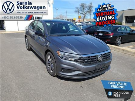 2021 Volkswagen Jetta Highline (Stk: V2182) in Sarnia - Image 1 of 21