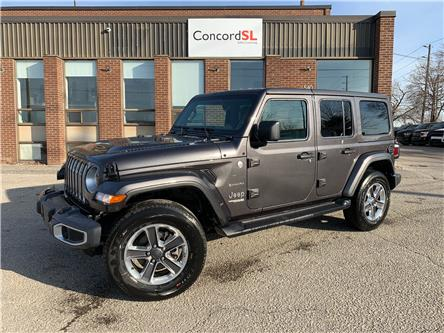 2021 Jeep Wrangler Unlimited Sahara (Stk: C5733) in Concord - Image 1 of 5