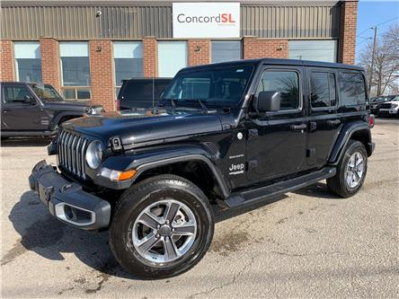 2021 Jeep Wrangler Unlimited Sahara (Stk: C5735) in Concord - Image 1 of 5