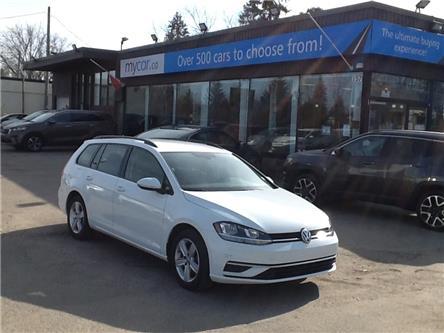 2019 Volkswagen Golf SportWagen 1.8 TSI Comfortline (Stk: 210195) in North Bay - Image 1 of 21