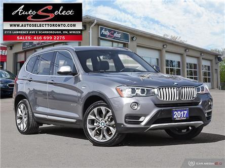 2017 BMW X3 xDrive28i (Stk: 1X17G31) in Scarborough - Image 1 of 28