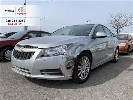 2013 Chevrolet Cruze ECO POWER GROUP, CRUISE, ALLOYS, SPOILER, STEERING (Stk: 48854A) in Brampton - Image 1 of 6
