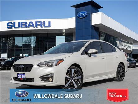 2019 Subaru Impreza 2.0i Sport-tech 4-door Auto w-EyeSight Pkg (Stk: P3540) in Toronto - Image 1 of 29