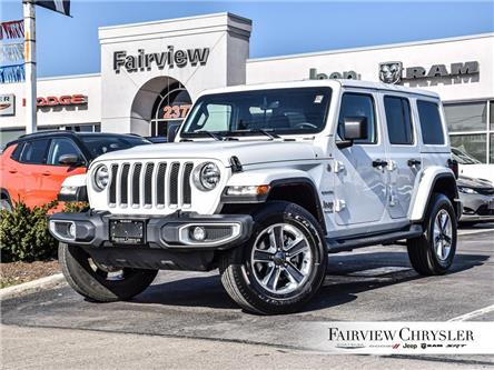2021 Jeep Wrangler Unlimited Sahara (Stk: U18459DR) in Burlington - Image 1 of 28