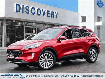 2020 Ford Escape Titanium Hybrid (Stk: 20-86528-B) in Burlington - Image 1 of 28