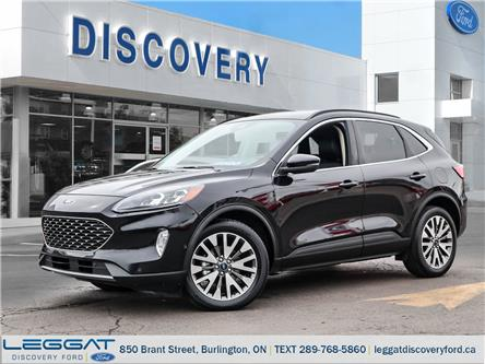 2020 Ford Escape Titanium Hybrid (Stk: 20-86550-B) in Burlington - Image 1 of 28