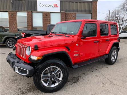 2021 Jeep Wrangler Unlimited Sahara (Stk: C5751) in Concord - Image 1 of 5