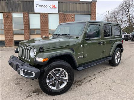 2021 Jeep Wrangler Unlimited Sahara (Stk: C5747) in Concord - Image 1 of 5