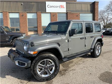 2021 Jeep Wrangler Unlimited Sahara (Stk: C5762) in Concord - Image 1 of 5