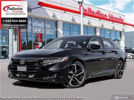 2021 Honda Accord SE 1.5T (Stk: 23188) in Greater Sudbury - Image 1 of 23